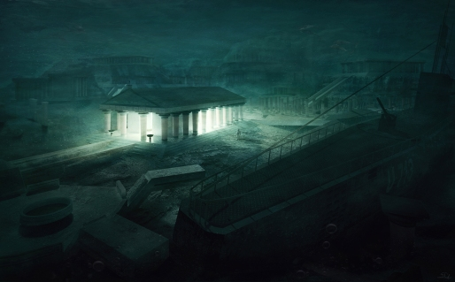 The_Temple_-_Lovecraftian_Concept_Art_by_Mihail_Bila
