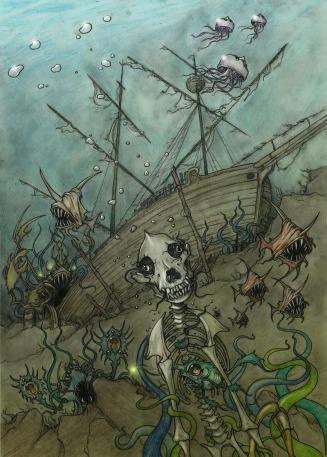 Drury under the sea