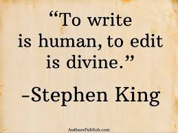 to write is